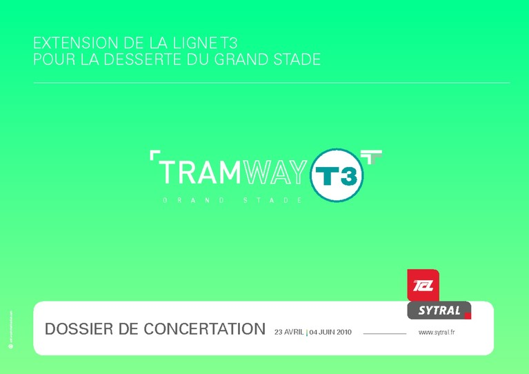 Tramway T3 GS dossier concertation