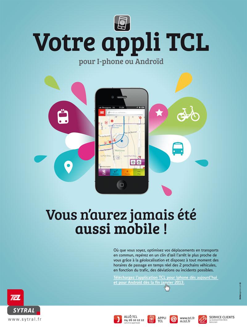 Application TCL pour smartphones - Actualités - Sytral
